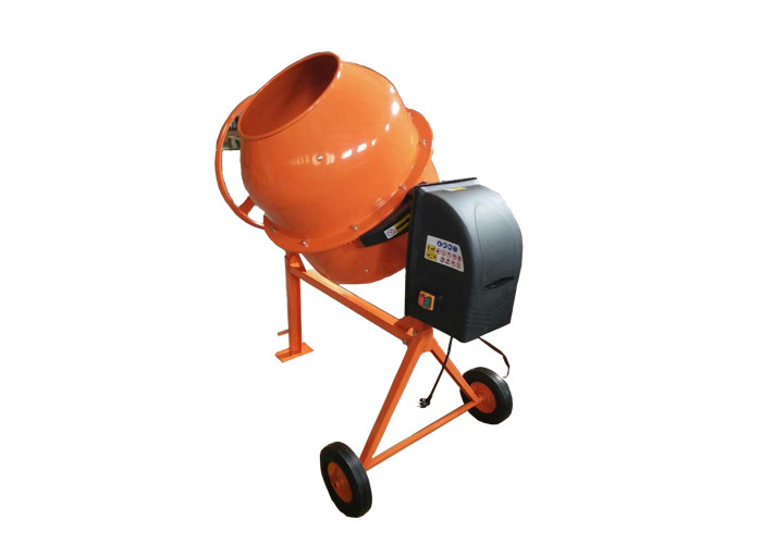 "24"" 600W Steel portable cement mixer 140L small concrete mixer with the round handle"
